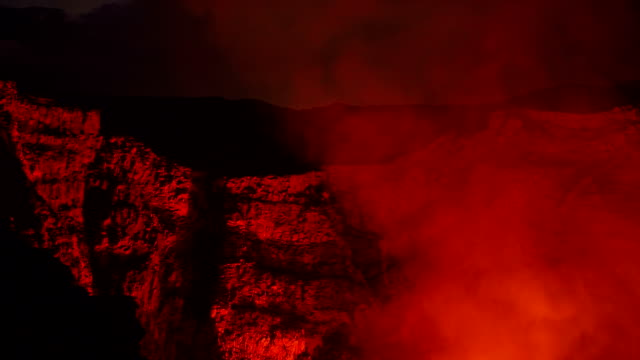 masaya volcano nicaragua - nicaragua stock videos and b-roll footage