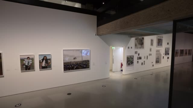masculinities exhibition opens to the public at the barbican centre in london on july 13 2020 in london england in line with government guidelines... - {{ contactusnotification.cta }} stock videos & royalty-free footage