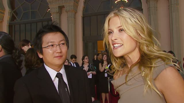 Masi Oka and Ali Larter on being nominated getting together with the rest of the cast if they prepared speeches if they've acquired any of their...