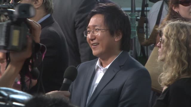 Masi Oka at the 'Get Smart' Premiere at Westwood CA