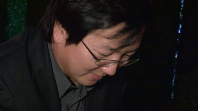 Masi Oka greets fans while departing the CBS 2012 Fall Premiere Party in West Hollywood 09/18/12