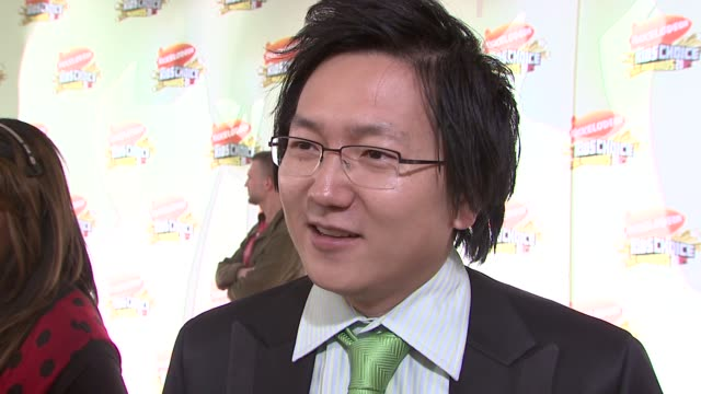 Masi Oka on the event the family appeal of his show and getting slimed at the 2007 Nickelodeon's Kids' Choice Awards at UCLA's Pauley Pavilion in Los...