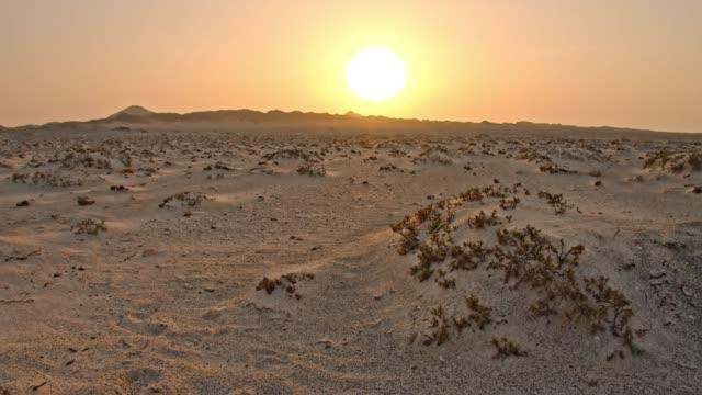 ds masirah island at sunrise - boulder rock stock videos & royalty-free footage