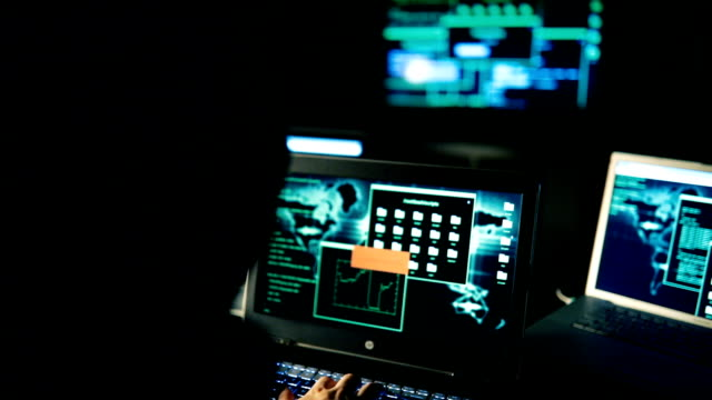 masked hacker man - threats stock videos & royalty-free footage