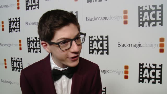 INTERVIEW Mason Cook on the event at 67th Annual ACE Eddie Awards in Los Angeles CA