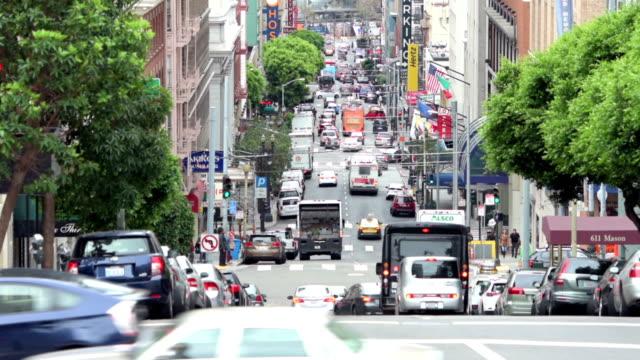 vidéos et rushes de mason street, san francisco - california street san francisco