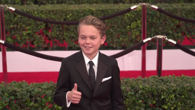 mason vale cotton at the 22nd annual screen actors guild awards - arrivals at the shrine auditorium on january 30, 2016 in los angeles, california.... - shrine auditorium stock videos & royalty-free footage