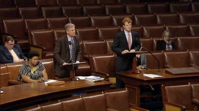 massachusetts congressman joseph kennedy speaks in support of legislation creating a federal task force to review pain management and prescription... - prescription drug abuse stock videos & royalty-free footage