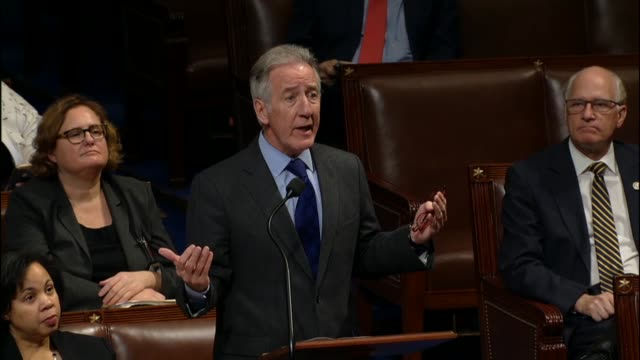 massachusetts congressman richard neal says during the last floor debate on the tax cuts and jobs act that the president had said minutes earlier the... - lowering stock videos & royalty-free footage