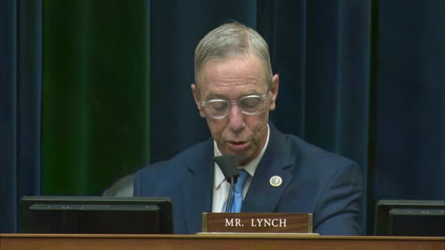 massachusetts congressman stephen lynch says at a house oversight and reform committee hearing with postmaster general louis dejoy that at the time... - article stock videos & royalty-free footage