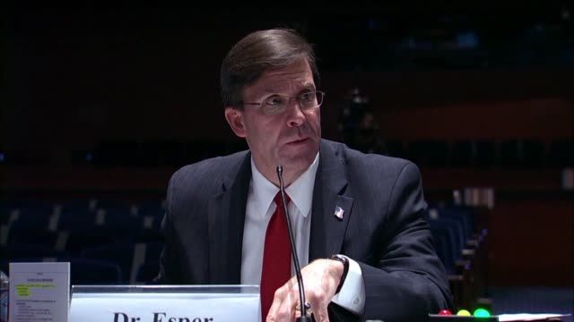 stockvideo's en b-roll-footage met massachusetts congressman william keating asks defense secretary mark esper at a house armed services committee hearing that based on what unsourced... - bagram air base
