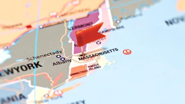 stockvideo's en b-roll-footage met massachusetts van vs-staten - boston massachusetts