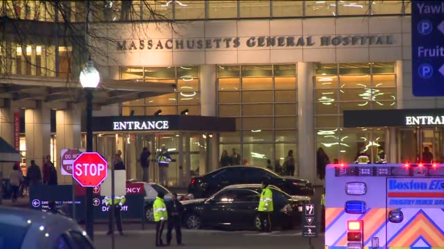 WPIX Massachusetts General Hospital reacts to bombings at the Boston marathon VOICED PACKAGE Massachusetts General Hospital on April 15 2013 in...