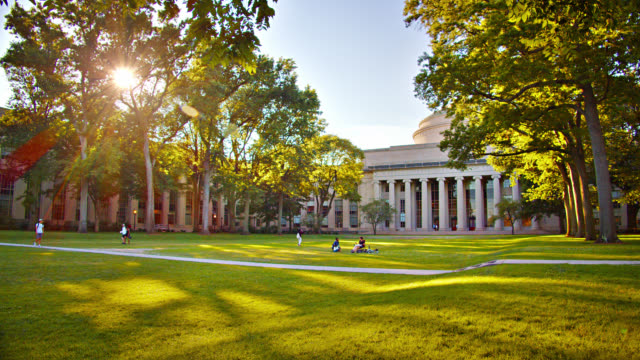massachusetts institute of technology. office building - campus stock videos & royalty-free footage
