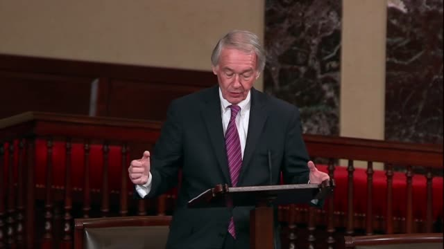 massachusetts senator ed markey says after the cop24 climate change summit in poland that in the early 2020s it would be cheaper to build renewable... - all around competition stock videos & royalty-free footage