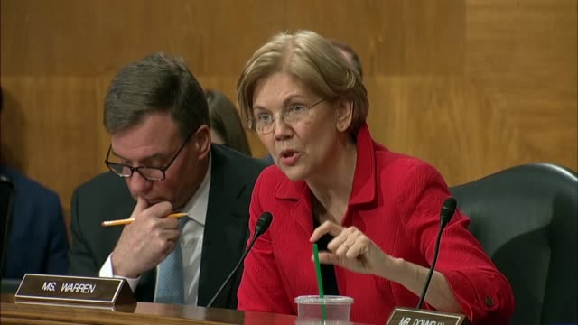 Massachusetts Senator Elizabeth Warren challenges a decision by Securities and Exchange Commission chair Jay Clayton over American retirement...