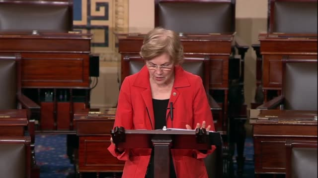 massachusetts senator elizabeth warren says instead of taking decisive action to address the humanitarian crisis in yemen the united states sells... - selling stock videos & royalty-free footage