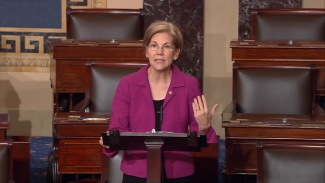 massachusetts senator elizabeth warren says that a data breach perpetrated against credit monitoring service at the facts is a nightmare at best a... - data breach stock videos and b-roll footage