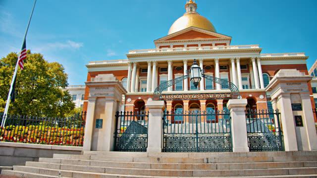 massachusetts state house. - massachusetts stock videos & royalty-free footage