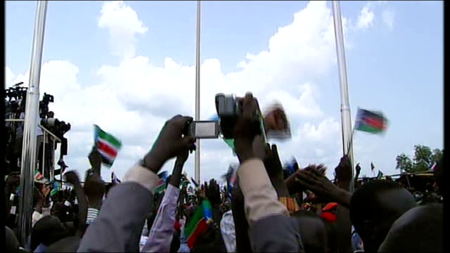 sudan massacre condemned by un lib ext gv people celebrating at independence day celebrations women dancing - independence stock videos & royalty-free footage