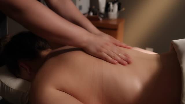 Massage der Seite Winkel Dolly