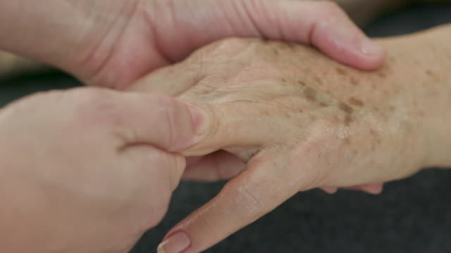 massage for seniors - anti aging stock videos & royalty-free footage