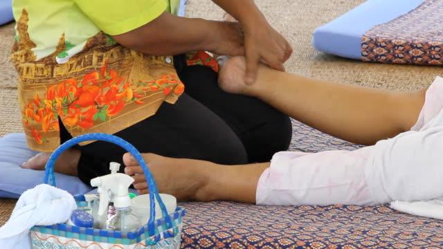 massage - tendon stock videos & royalty-free footage