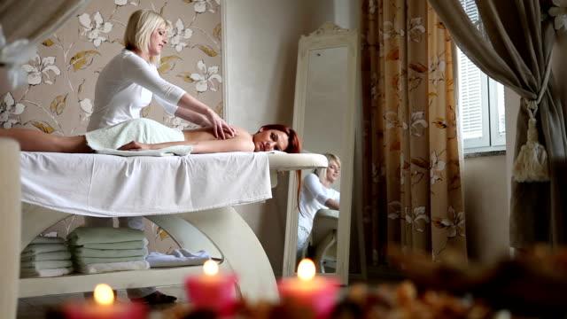 massage - health farm stock videos & royalty-free footage