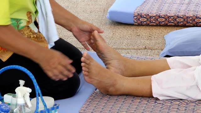 massage-1 - tendon stock videos & royalty-free footage