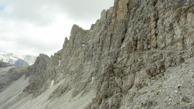 massif, dolomites in south tyrol - tre cimo di lavaredo stock videos & royalty-free footage