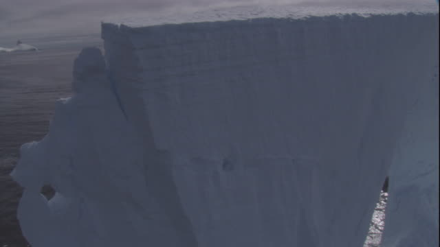 massive iceberg in antarctica. - bbc stock videos and b-roll footage