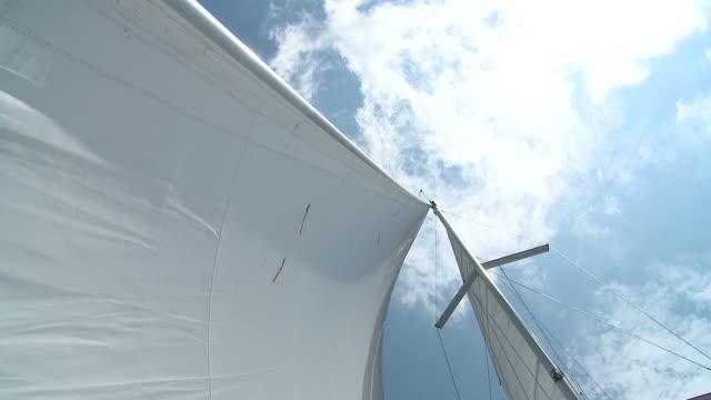 hd :、マスト - 大三角帆点の映像素材/bロール