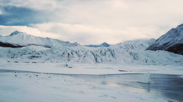 Matanusca Glacier in early winter.