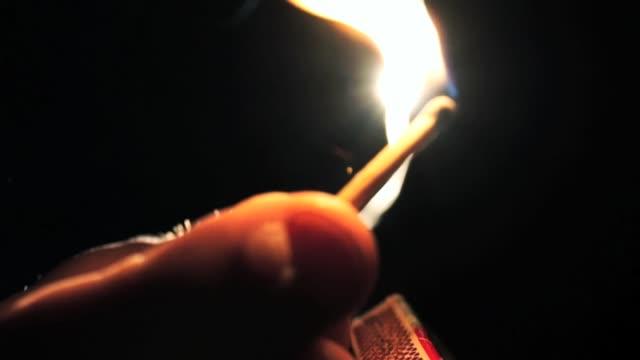 match strike - マッチ箱点の映像素材/bロール