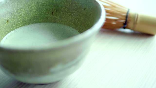 matcha tea - todchamp stock videos and b-roll footage