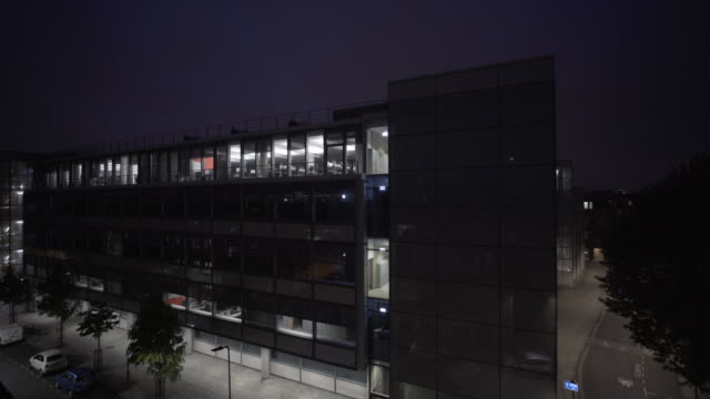 Matching day and night series of a city office.