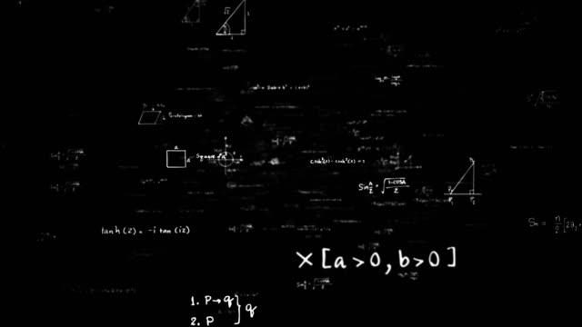 matematik formülleri schleife - trigonometrie stock-videos und b-roll-filmmaterial
