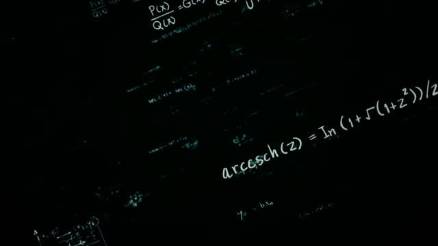 matematik formulleri schleife - formel stock-videos und b-roll-filmmaterial
