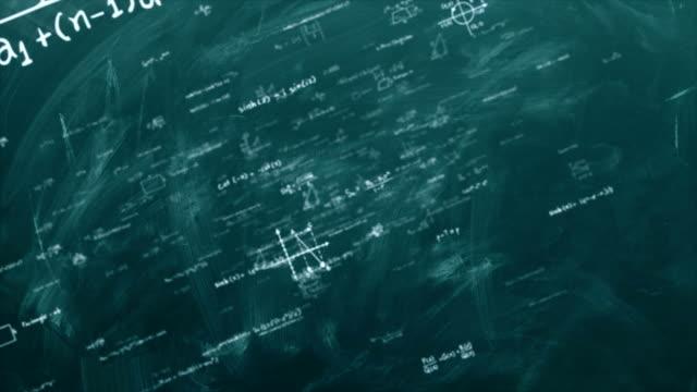 matematik formulleri loop - inspiration board stock videos & royalty-free footage