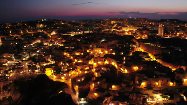 matera in italy - unesco world heritage site stock videos & royalty-free footage
