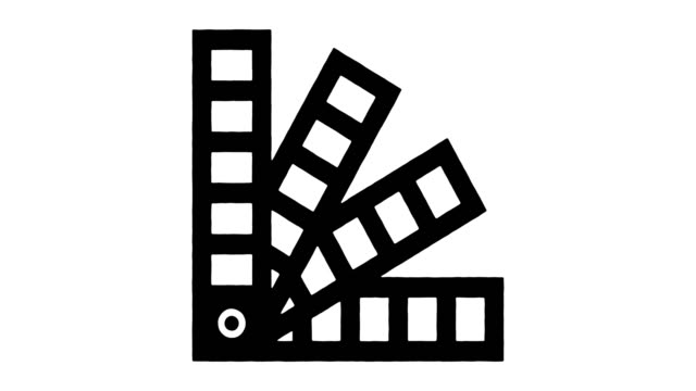 materials & printing technology line drawing & ink splatter reveal animation with alpha - linotype machine stock videos & royalty-free footage