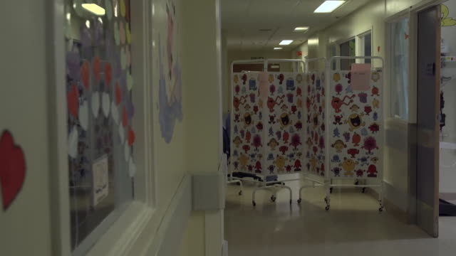maternity ward at nhs university hospital in wishaw lanarkshire is divided in two to help contain the coronavirus during the pandemic - pregnant stock videos & royalty-free footage