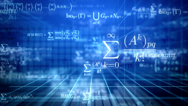 math background. loop. - formula stock videos & royalty-free footage