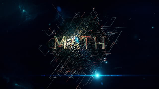 math matrix cube - complexity stock videos and b-roll footage