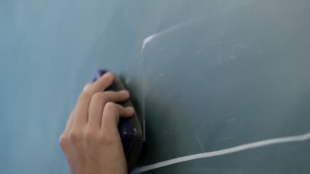 cu pan td  mathematical formula being wrote on blackboard / singapore - blackboard stock videos and b-roll footage