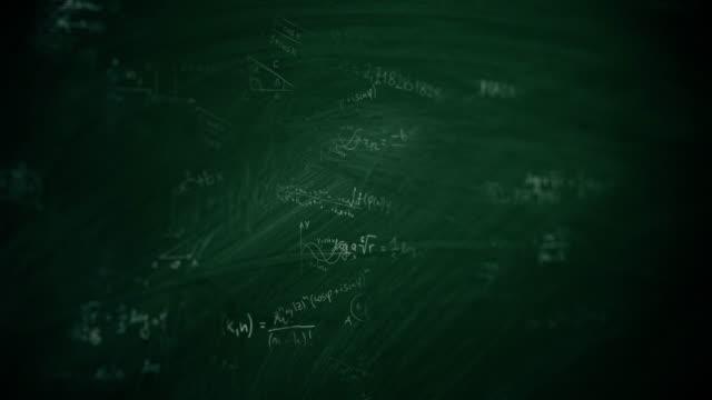 mathematische formeln - physik stock-videos und b-roll-filmmaterial