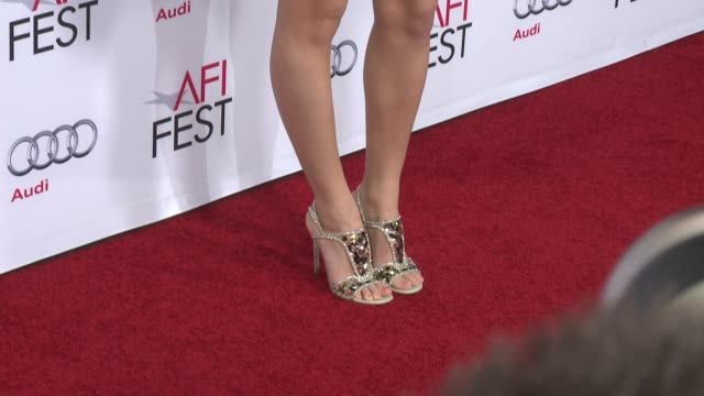 vídeos y material grabado en eventos de stock de matilde gioli at afi fest 2014 presented by audi a special tribute to sophia loren at dolby theatre on november 12 2014 in hollywood california - teatro dolby
