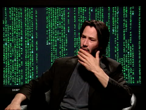 London Reeves speaking to Nannar Keanu Reeves interviewed SOT I got kicked a couple of times one of wire tricks got caught in tree but I never really...