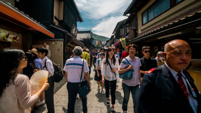 Matsubara-dori hyperlapse in Kyoto 4K