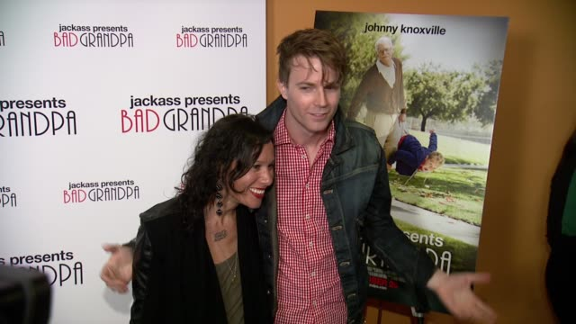 Matt and Kim at Jackass Presents Bad Grandpa New York Special Screening at Sunshine Landmark New York NY on 10/21/13 in New York NY